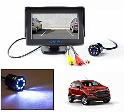 Speedwav   Lcd Tft Monitor Led Reverse Parking Camera Ford Ecosport