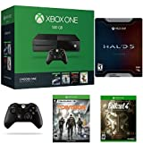 Xbox One 500GB Console - Name Your Game Bundle + Halo 5: Guardians Limited Edition + Fallout 4 + Tom Clancy's The Division + Xbox One Wireless Controller - Black