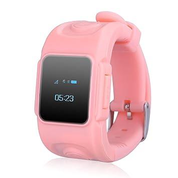 "Excelvan Huppy - Reloj Inteligente Smartwatch para Niños (Pantalla 0.66"" OLED, GSM Nano"