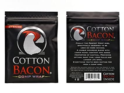 Algodón Bacon Comp Wrap - Alambre y Guata Set - 0,8mm (20AWG ...