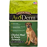 AvoDerm Grain Free Adult Dry Dog Food, Chicken Meal & Potato Recipe, 24-Pounds
