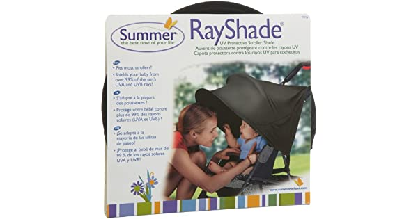 Amazon.com: RayShade® UV protector carriola Shade Mejora la ...