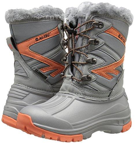 Pictures of Hi-Tec Avalanche JR Winter Boot (Toddler/ Orange/Grey 4