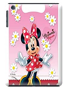 Steven L.Cummings Hot bumper skin case with crystal clear tpu phone back cover for ipad mini(Minnie Mouse)