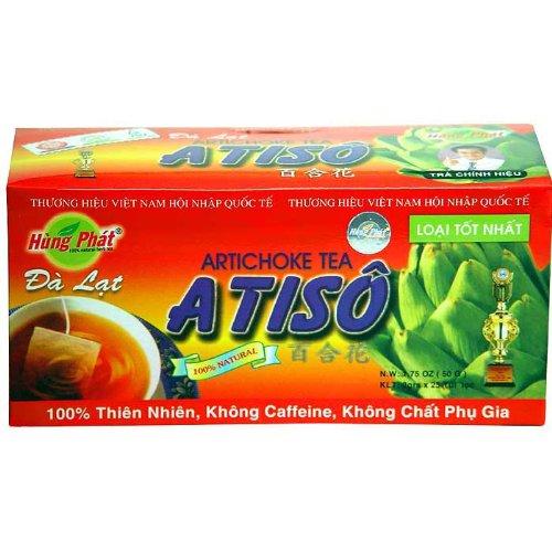 Artichoke Tea, Box of 25 Teabags, 50 Gram