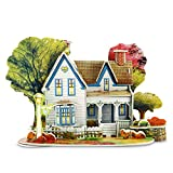 3D Architecture Houses Jigsaw Puzzles For Kids Handmade Creative Assemble Dream House (32 Pieces)