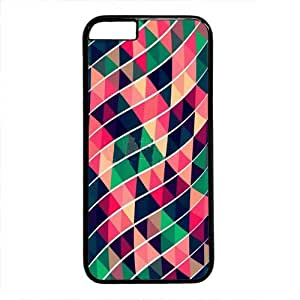 iPhone 6 Case, wskshop Customized Stripes and Triangles Plastic Cover Case for iPhone 6