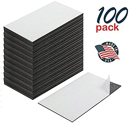 Amazon self adhesive business card magnets peel and stick self adhesive business card magnets peel and stick great promotional product value pack colourmoves