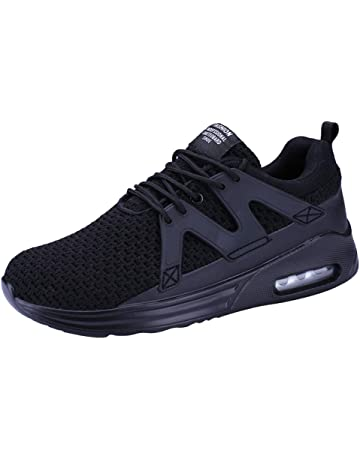 2dcb655b5a4 DOLDOA Sale for Men s Classic Outdoor Mesh Casual Lace Up Solid Color  Comfortable Soles Slip On