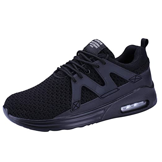 dbd41acbea36e Amazon.com: Men Sports Running Shoes Breathable Sneakers Lightweight ...