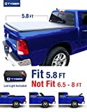 Tyger Auto Tg-bc3d1015 Tri-fold Tonneau Bed Cover Fits 2009-2017 Dodge Ram 1500 5.8' Short Box