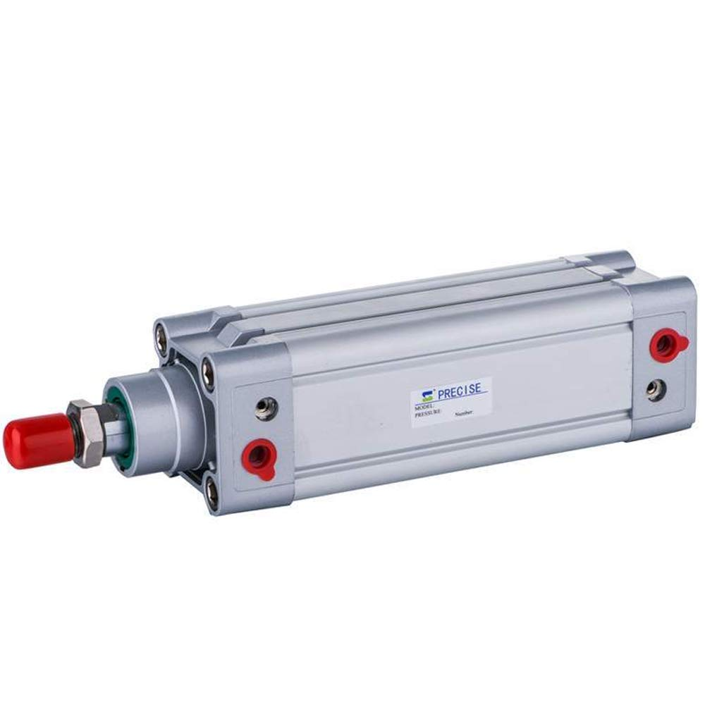 Precise DNC80X200-S 80mm Bore x 200mm Stroke 3/8'' NPT ISO15552 Double Acting Air Cylinder