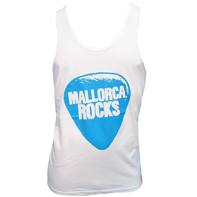 Mallorca Rocks: Camiseta sin Mangas Plectro: Amazon.es: Ropa ...
