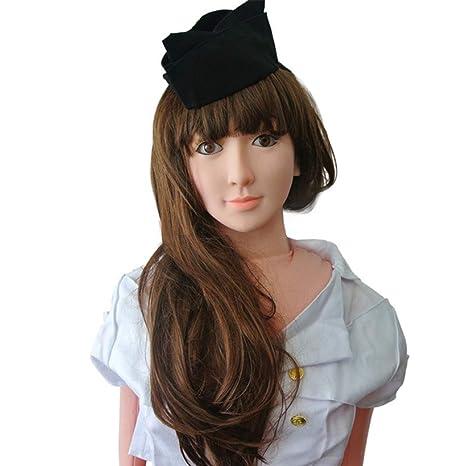 Amazon.com: YYOJ Muñeca de goma realista para hombre, muñeca ...