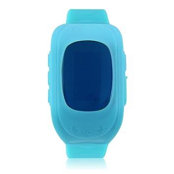 Niños Q50 Accurate Tracker SOS Emergency Anti-Lost Reloj Inteligente para Android (Color: Azul): Amazon.es: Electrónica
