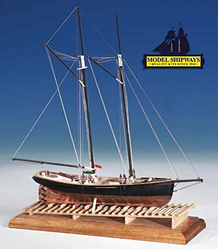 Model Shipways Phantom Ny Pilot Boat 1:96 Scale Historic Wooden Ship Model Kit MS2027 Model-Expo