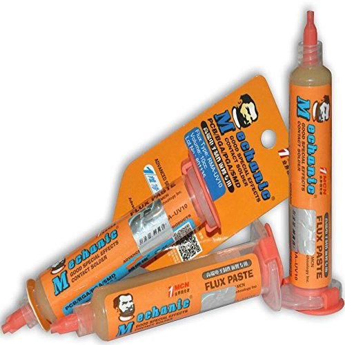Mechanic Flux Solder Paste Syringe 10ml Halogen Free UV10 (Blade Dot Helmet)