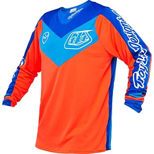 Troy-Lee-Designs-SE-Corse-Anaheim-Mens-MotoXDirt-Bike-Motorcycle-Jersey-Orange