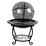 MEI XU Barbecue Grill BBQ Grill - Iron Barbecue Charcoal Grill Stove Home Indoor Outdoor smokeless Portable Winter Heater Grill (Size : A)