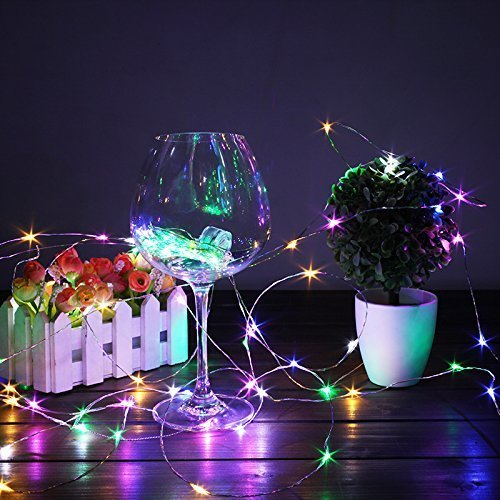 Luces de Botella de Vino,lámpara decorada,DIY Guirnaldas Luces Led Románticas para Boda, Navidad, Fiesta, Hogar, Exterior, Jardín, Terraza, Dormitorio (Colorear)