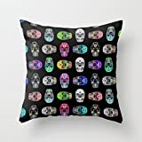 loveloveu pillow cases of geometry,for kids,sofa,adults,christmas,kids room,car seat 16 x 16 inches / 40 by 40 cm(double sides)