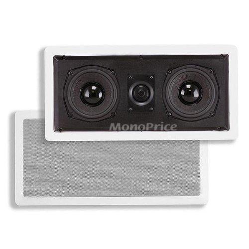 5-1/4 Inches Center Channel In-Wall Speaker - 8 Ohm (Monoprice Center compare prices)