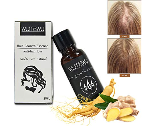 wumawu Hair Growth Essence,Hair Growth Liquid Help Hair Growing Fast Longer - Strengthens Hair Roots - Hair Loss & Hair Thinning Treatment