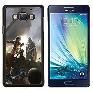 KLONGSHOP // Cubierta de piel con cierre a presión Shell trasero duro de goma Protección Caso - Peter Dinklage - Samsung Galaxy A7 A7000 //