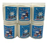 Science Gone Fun Magic Instant Expanding Snow Powder 1 Pound Jar (6),Makes 48 Gallons