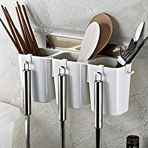 Beauté Secrets Wall Mounted Knife/Spoon/Fork Storage Rack