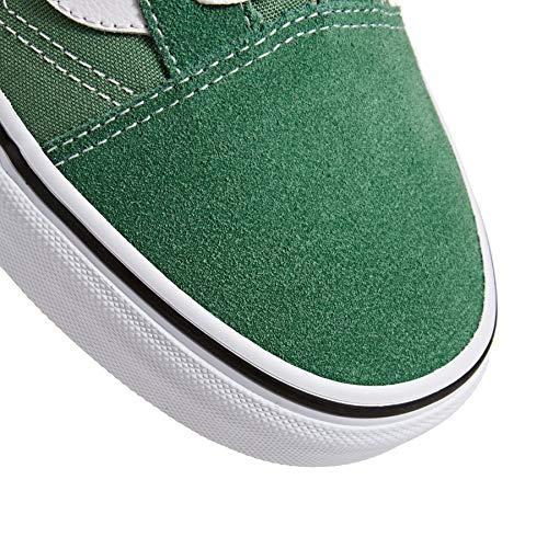 da True Sneakers Ua Green White uomo Old Skool Grass Deep basse Vans U4XqTRw