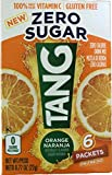 Sugar Free TANG On The Go 6/packet boxes .77oz each