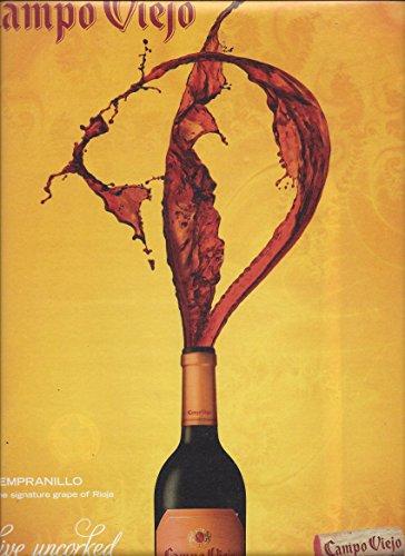 PRINT AD For Campo Viejo Rioja Termpranillo Wine Live Uncorked