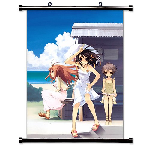 (The Melancholy of Haruhi Suzumiya Anime Wall Scroll Poster (32 x 45) Inches)