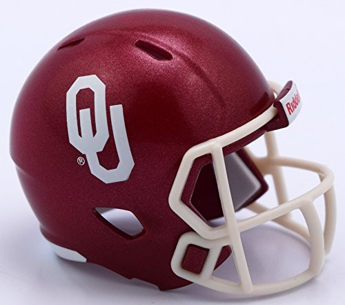 Riddell Oklahoma Sooners NCAA Speed Pocket PRO Micro/Pocket-Size/Mini Football Helmet