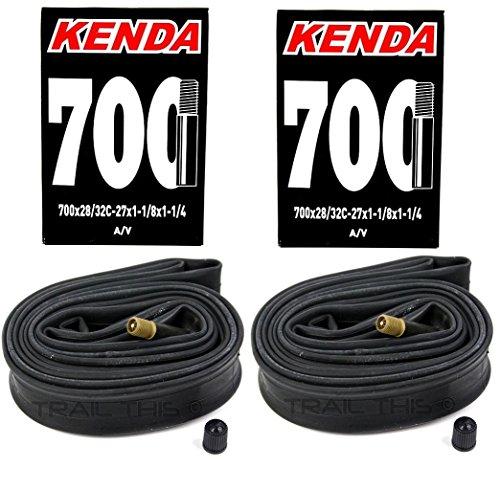 2-Pack Kenda Road Bike Inner Tubes 700x28-32 (27