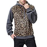 Difference Between California King and Regular King Realdo Mens Slim Fit Hoodie Clearance Sale, Autumn Winter Print Long Sleeve Hooded Sweatershirt Top Blouse(X-Large,Grey12)