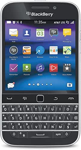BlackBerry Classic, Black 16GB (AT&T)