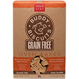 Cloud Star Grain Free Oven Baked Buddy Biscuits Dog Treats - Homestyle Peanut Butter
