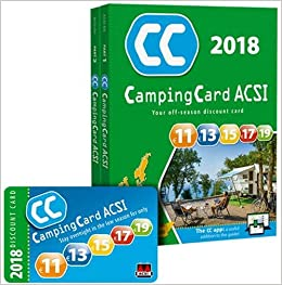 ou acheter la carte acsi 2020 CampingCard 2018 20 countries 2018: ACSICARD.20.E: 9789492023490