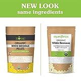 Organic White Beeswax Pellets (1lb) by Sky Organics