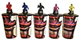#10: Power Rangers 2017 Movie Theater Exclusive Cup Topper Set with 44 oz Cups