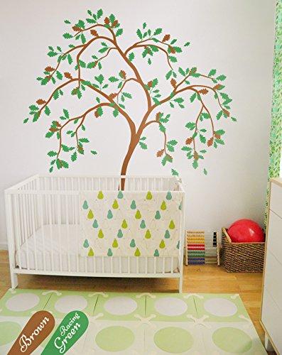 Amazon.com: Wall decal nursery tree wall decor sticker whimsical ...
