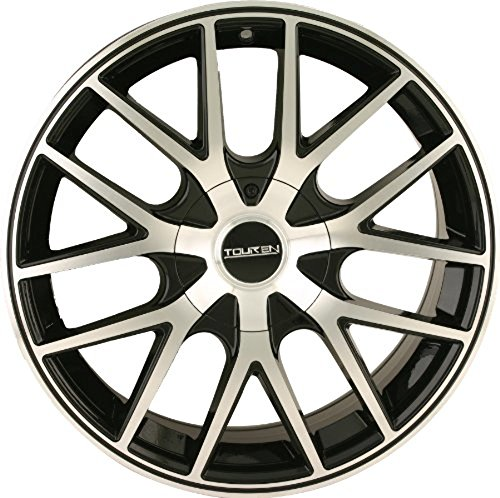 Touren TR60 16 Machined Black Wheel / Rim 5x110 & 5x115 with a 42mm Offset and a 72.62 Hub Bore. Partnumber 3260-6711B (Cadillac Cts 2006 Rims compare prices)