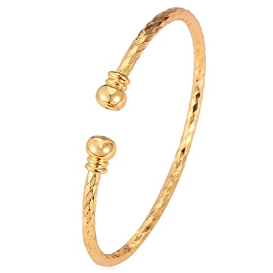 bracelet gold bangle diamond venetian yellow princess coin bangles roberto
