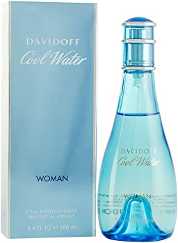 Cool Water By Zino Davidoff For Women Deodorant Spray