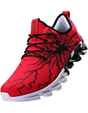 7a1a73e9 BRONAX Men's Stylish Graffiti Personality Sneakers