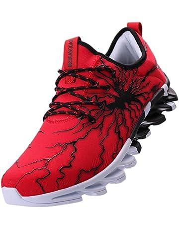 734c4da795455 BRONAX Men s Fashion Graffiti Personality Sneakers