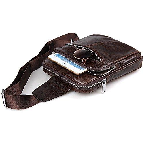 tracolla in impermeabile Viaggi Jxth a laptop pelle Borsa regolabile con di viaggio uomo tracolla per giornalieri lavoro Borsa a Cartella per a per tracolla e affari Borsa tracolla wSr85q8t