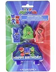 amscan Birthday Candles, Wax, Blue, Red, Green, One size
